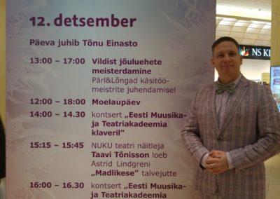 Sünnipäevadele ja juubelitele vahelduseks ka avalikud sündmused